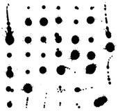 blots ink isolerat Royaltyfria Foton