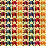 Blots seamless pattern in retro style. Vector eps 10 Stock Photography