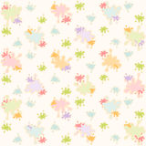 Blots wallpaper. Bright watercolor blots on white background. Vector wallpaper Royalty Free Stock Image