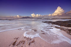 Blouberg Beach. Sunrise image from Blouberg beach with Table Mountain in background Stock Photography