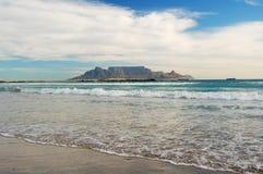 bloubergstrand na plaży Zdjęcia Stock