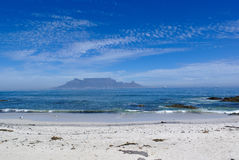 Bloubergstrand with Table Mountain Royalty Free Stock Image