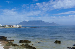 Bloubergstrand with Table Mountain Stock Images