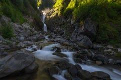 Bloucher baja en Mt NP más lluvioso Fotos de archivo