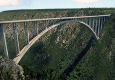 Bloukrans Bridge South Africa royalty free stock photography