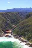 Bloukrans-Flussmündung Stockfotografie