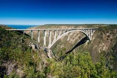 Bloukrans most, Bloukrans, Wschodnia przylądek prowincja, Południowa Afryka Obraz Stock