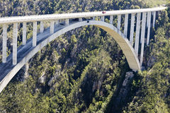 Bloukrans River bridge (216 m) Royalty Free Stock Image