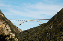 Bloukrans River Bridge. The Highest Commercially Operating Bungy Jumping Royalty Free Stock Image