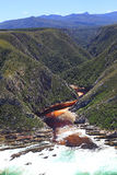 Bloukrans river mouth Royalty Free Stock Photography