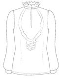 blouse Stock Fotografie