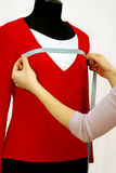 Blouse on a dummy Royalty Free Stock Image