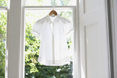 Blouse On Hanger At Home Stock Image