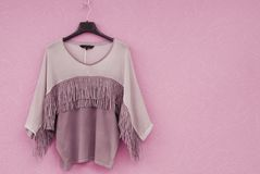Blouse is in Indian style. Royalty Free Stock Photo