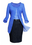 blouse and skirt Royalty Free Stock Photo