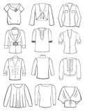Blouses Stock Images
