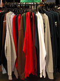 Blouses stand Royalty Free Stock Photography