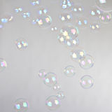 Blow bubbles Stock Images