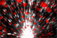 Blow Hearts Stock Photos