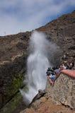 Blow Hole in Ensenada, Mexico Royalty Free Stock Image