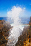 Blow hole Royalty Free Stock Photo