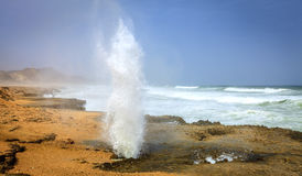 Blow holes Stock Photography