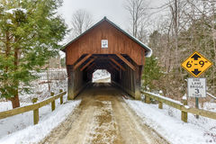 Blow-Me-Down Covered Bridge - New Hampshire Stock Images