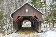 Blow-Me-Down Covered Bridge - New Hampshire Royalty Free Stock Photos