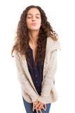 Blow me a kiss! Stock Photo