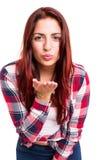 Blow me a kiss! Royalty Free Stock Image