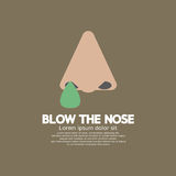 Blow The Nose Flat Design Stock Photos
