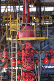 Blow Out Preventer (BOP) for Drilling Oil Rig. Upstream Industry Royalty Free Stock Photos