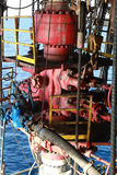 Blow Out Preventer (BOP). For Offshore Drilling Rig Stock Photo