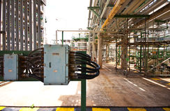 Blower in factory. Electric box in factory thailand Royalty Free Stock Photography