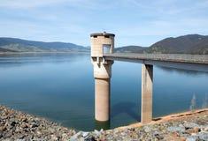 Blowering水坝,新南威尔斯,澳大利亚 免版税图库摄影