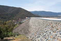 Blowering水坝,新南威尔斯,澳大利亚 库存照片