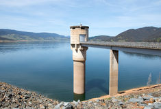 Blowering Dam, New South Wales, Australia Royalty Free Stock Photography