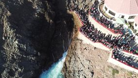 Blowhole του Λα Bufadora, διάσημη έλξη Ensenada απόθεμα βίντεο