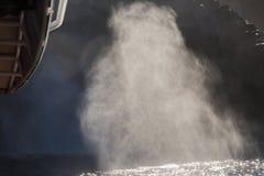 Blowhole κοντά στο ακρωτήριο Connella, νησί Bruny, νότια Τασμανία Στοκ Εικόνες