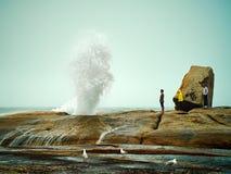 Blowhole Bicheno Στοκ Φωτογραφία
