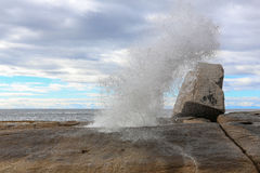 Blowhole at Bicheno Royalty Free Stock Photos