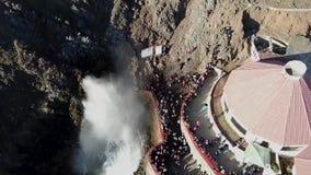 Blowhole los angeles Bufadora, sławny przyciąganie Ensenada zbiory wideo