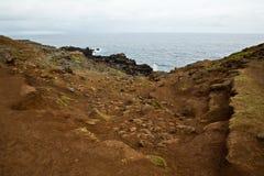 Blowhole on Maui Stock Photography