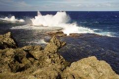 The Blowholes, Tonga Royalty Free Stock Image