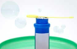 Blowing bubbles Royalty Free Stock Images