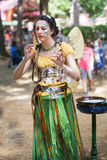 Blowing Bubbles Maryland Renaissance Festival Royalty Free Stock Photo