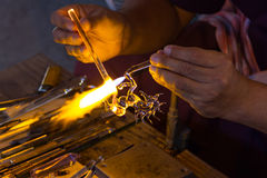 Blowing Glass Royalty Free Stock Images