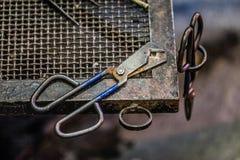 Blowing Glass Diamond Shear Scissors Royalty Free Stock Image