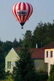 Blowing hot air balloon. Stock Photos
