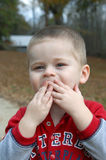 Blowing kisses Royalty Free Stock Photos